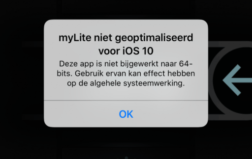Melding 64-bit in iOS 10