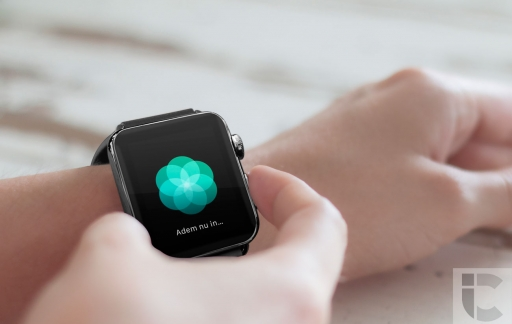 Ademhaling-app op Apple Watch