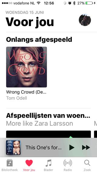Apple Music: Voor Jou