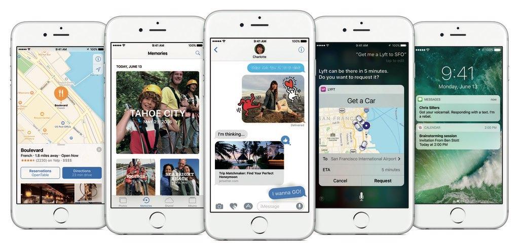 iOS 10 functies