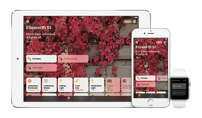 Home-app voor iPad, Apple TV en iPhone