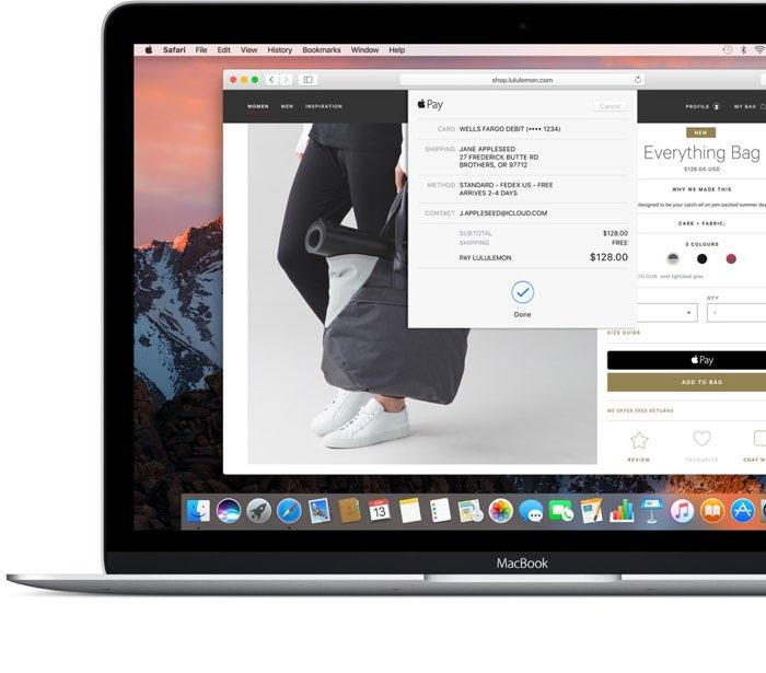 Safari macOS Sierra