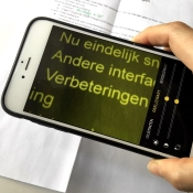 Vergrootglas iPhone