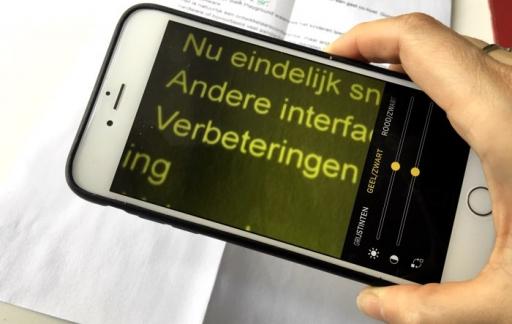 Vergrootglas iPhone