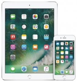 iOS 10 op de iPhone en iPad.
