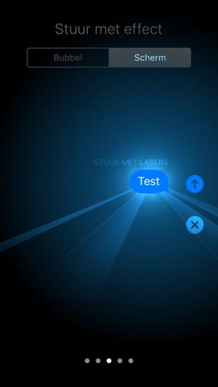 Visuele effecten meesturen met iMessage in iOS 10.