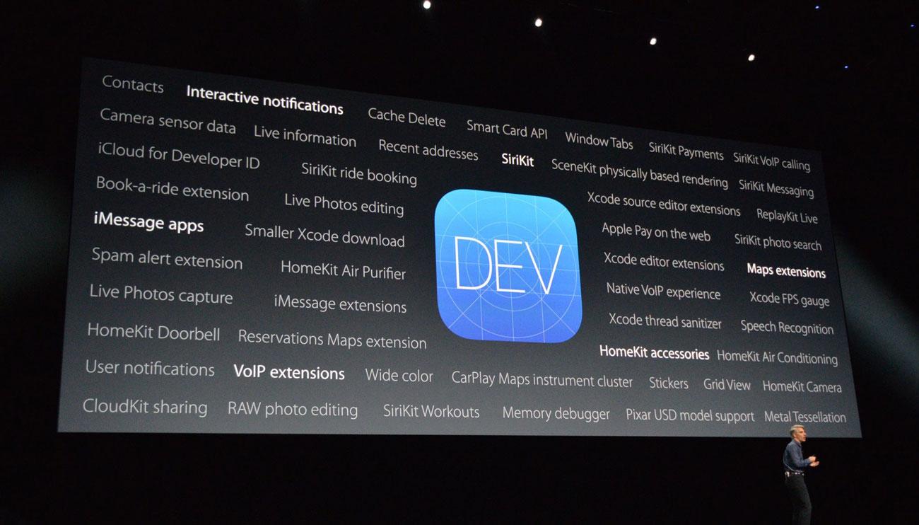iOS 10 vernieuwingen