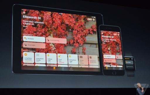 Home-app in iOS 10.