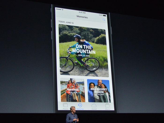 Apple's iOS 10 Foto's-app