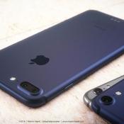 Concept: zo zou een donkerblauwe iPhone 7 eruit kunnen zien