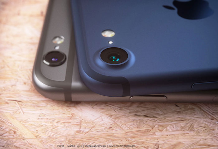 iPhone 7 concept antenne strepen