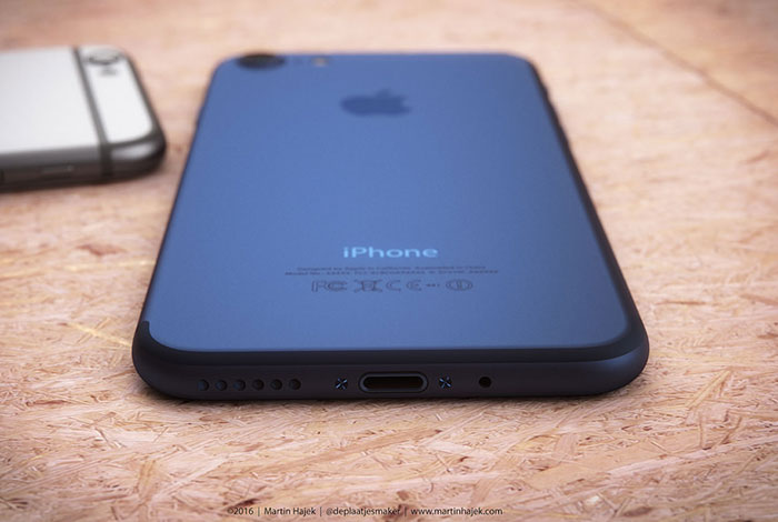 iPhone 7 concept blauw feller