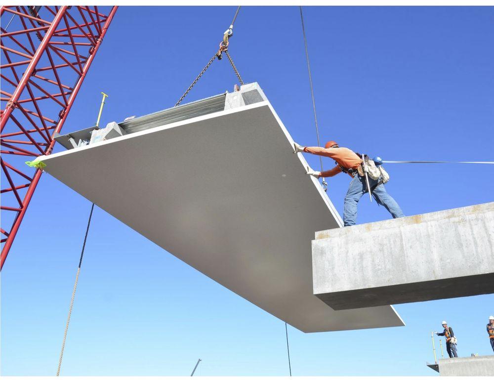 Apple Campus 2: betonplaten