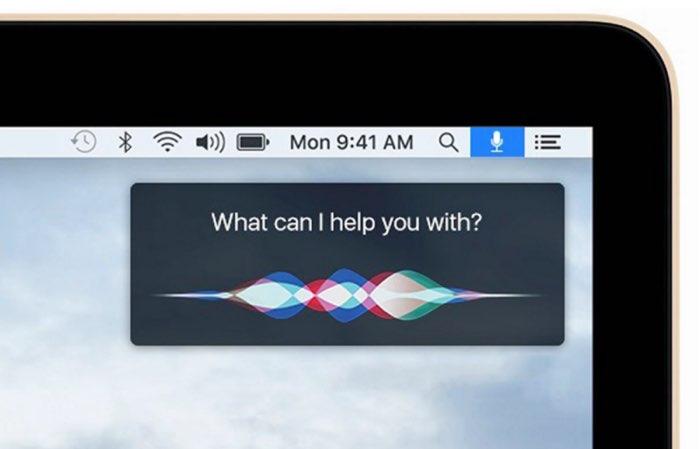 Siri voor Mac ontdekking