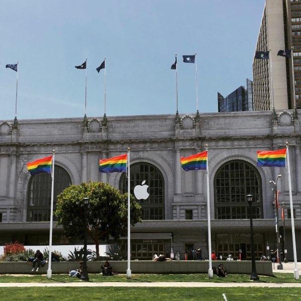 Bill Graham regenboogvlaggen