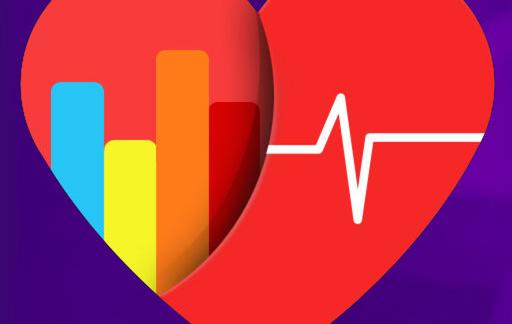 Cardiogram icoon groot