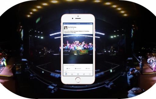 360-graden foto's uploaden op Facebook.