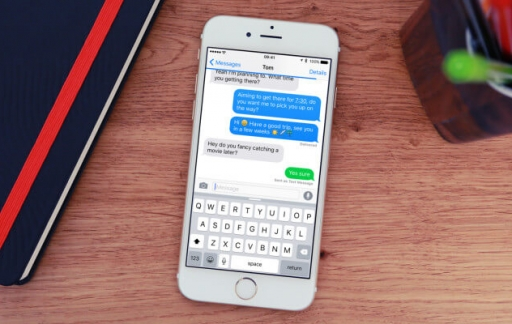 iMessage app op de iPhone