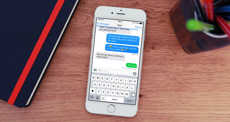 iMessage-app voor iPhone