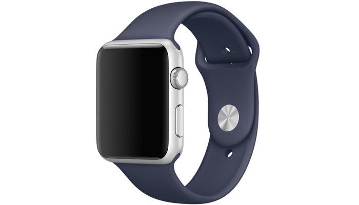Apple Watch middernachtblauw
