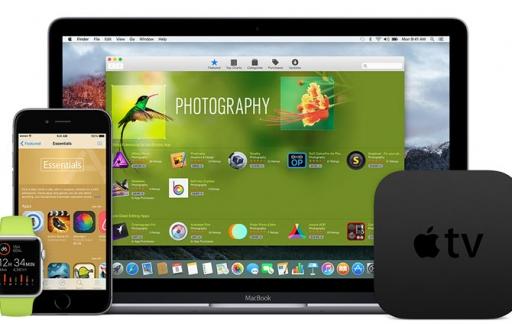 App Store-apparaten