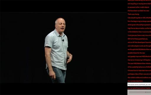 WWDC app voor de Mac - video en transcript