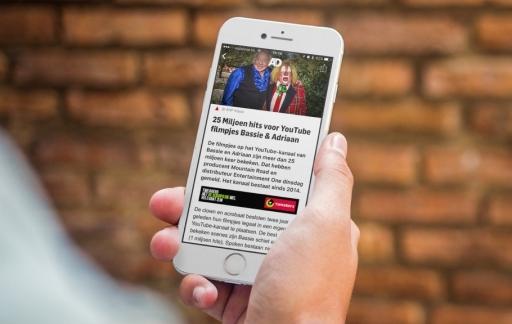 Een artikel lezen in de nieuwe AD-app.