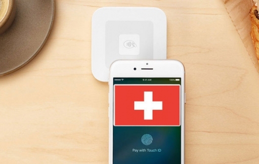 Apple Pay in Zwitserland