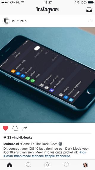 iCulture op Instagram