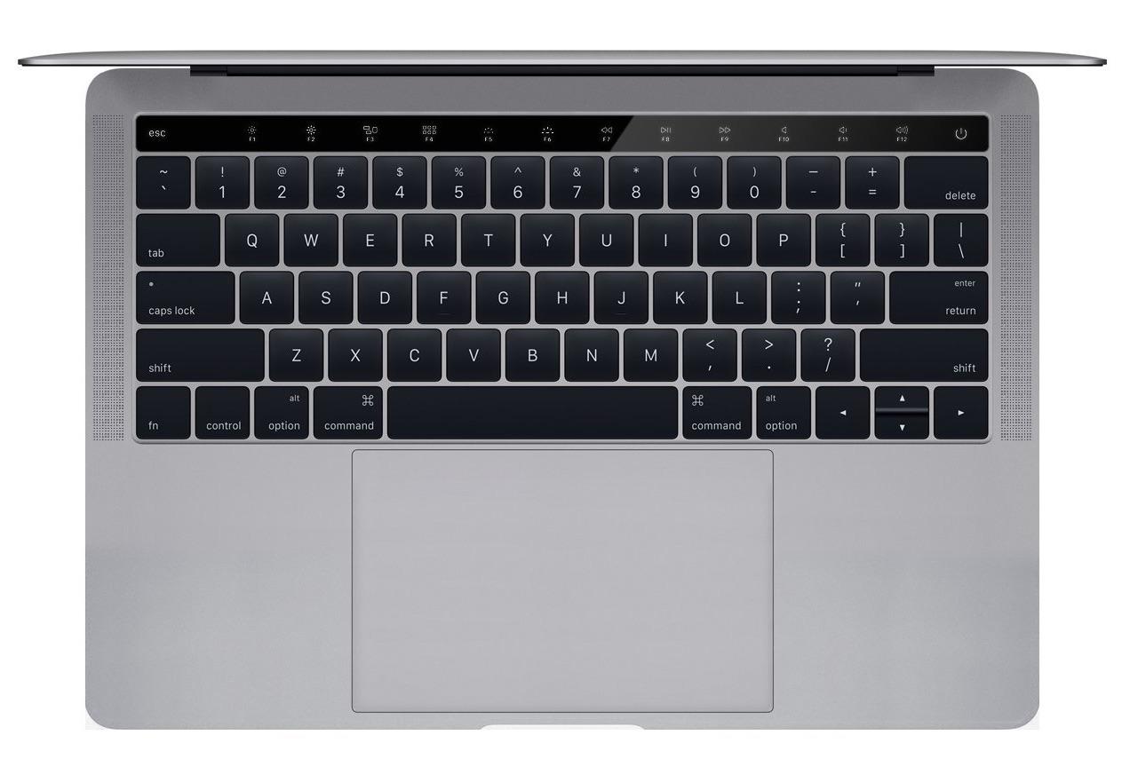 MacBook Pro-concept met OLED-balk.