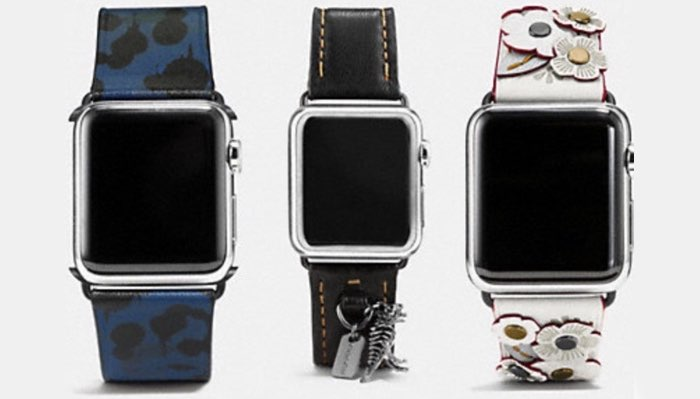 Coach horlogebandjes voor Apple Watch
