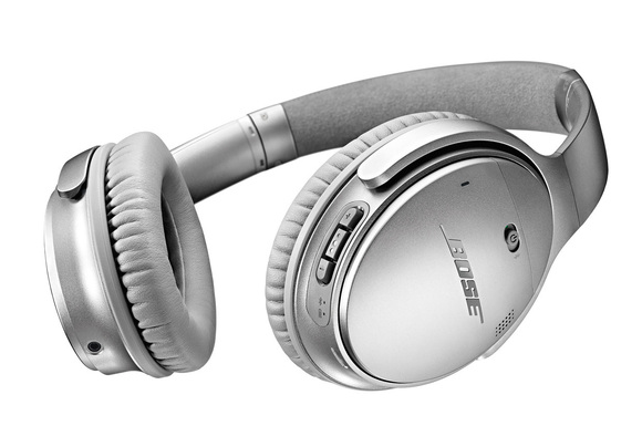 Bose QuietComfort 35 in zilver