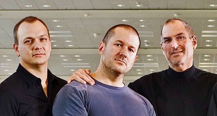 Tony Fadell, Steve Jobs en Jony Ive