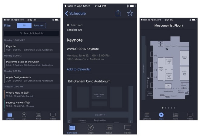 WWDC app 2016-update