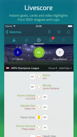Forza Football is een complete voetbalapp, ook voor het EK 2016.