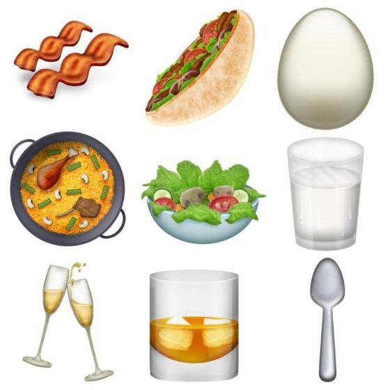 Emoji: food