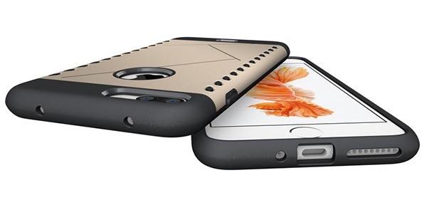 Onderkant van mogelijke hoesjes voor de iPhone 7 Plus.