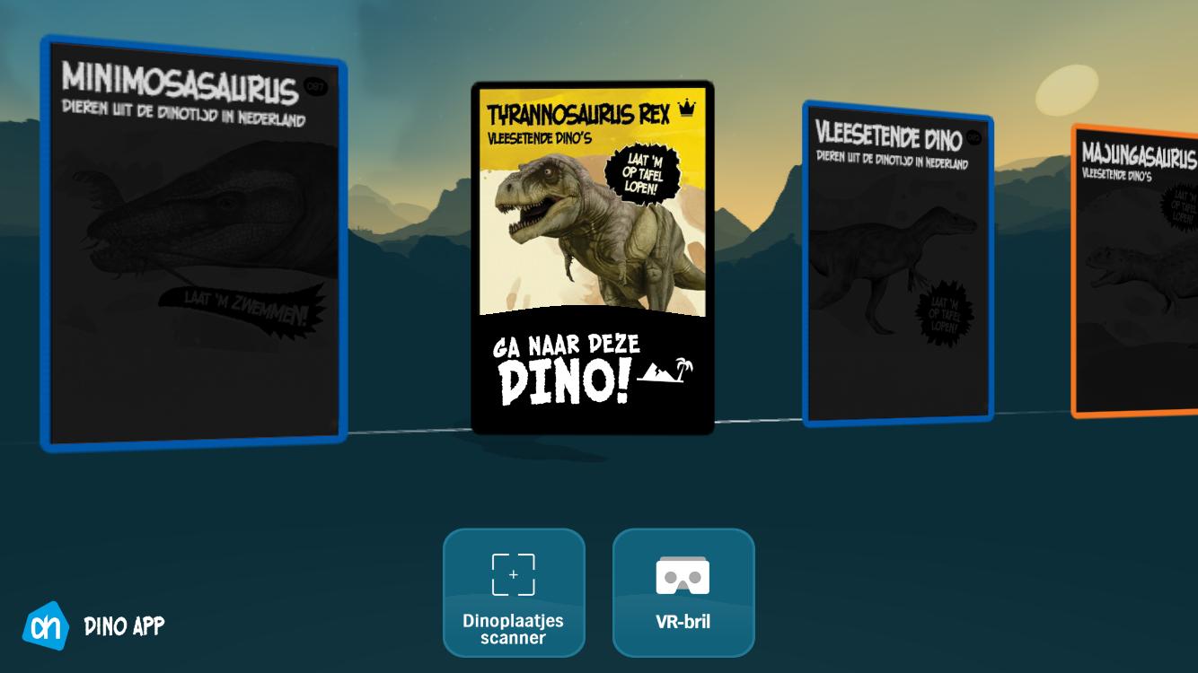 Dino-app van Albert Heijn.