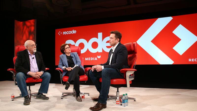 Re/code conference met Elon Musk