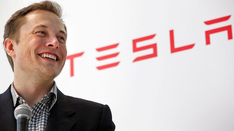 Elon Musk van Tesla