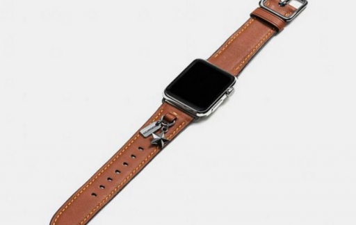Coach lederen Apple Watch-horlogebandjes