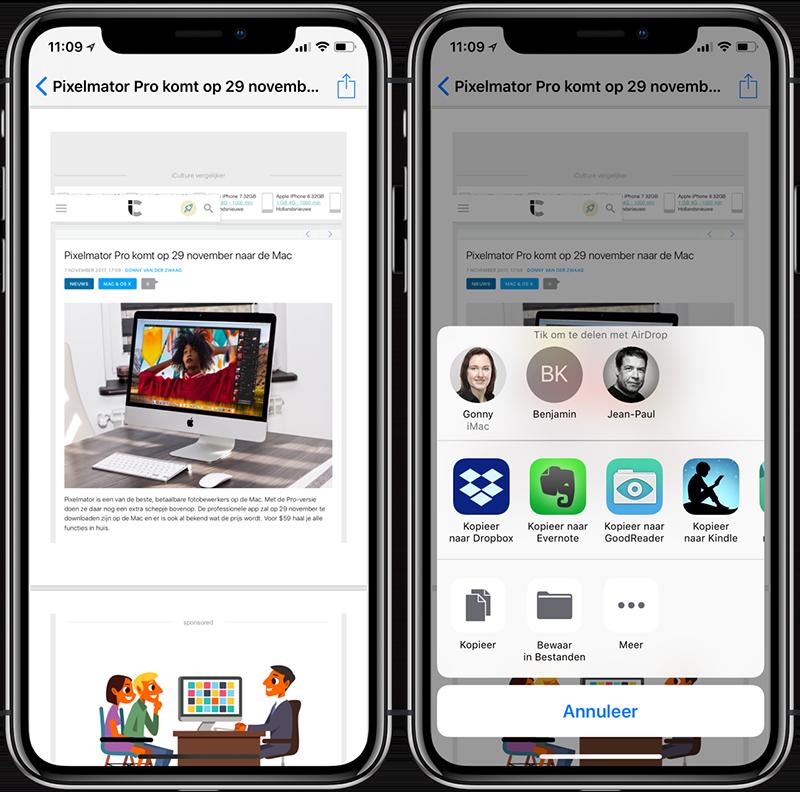 PDF maken en delen op iPhone en iPad