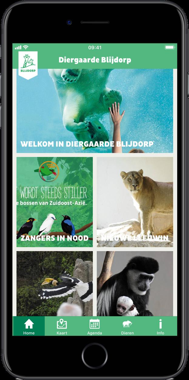 Diergaard Blijdorp app