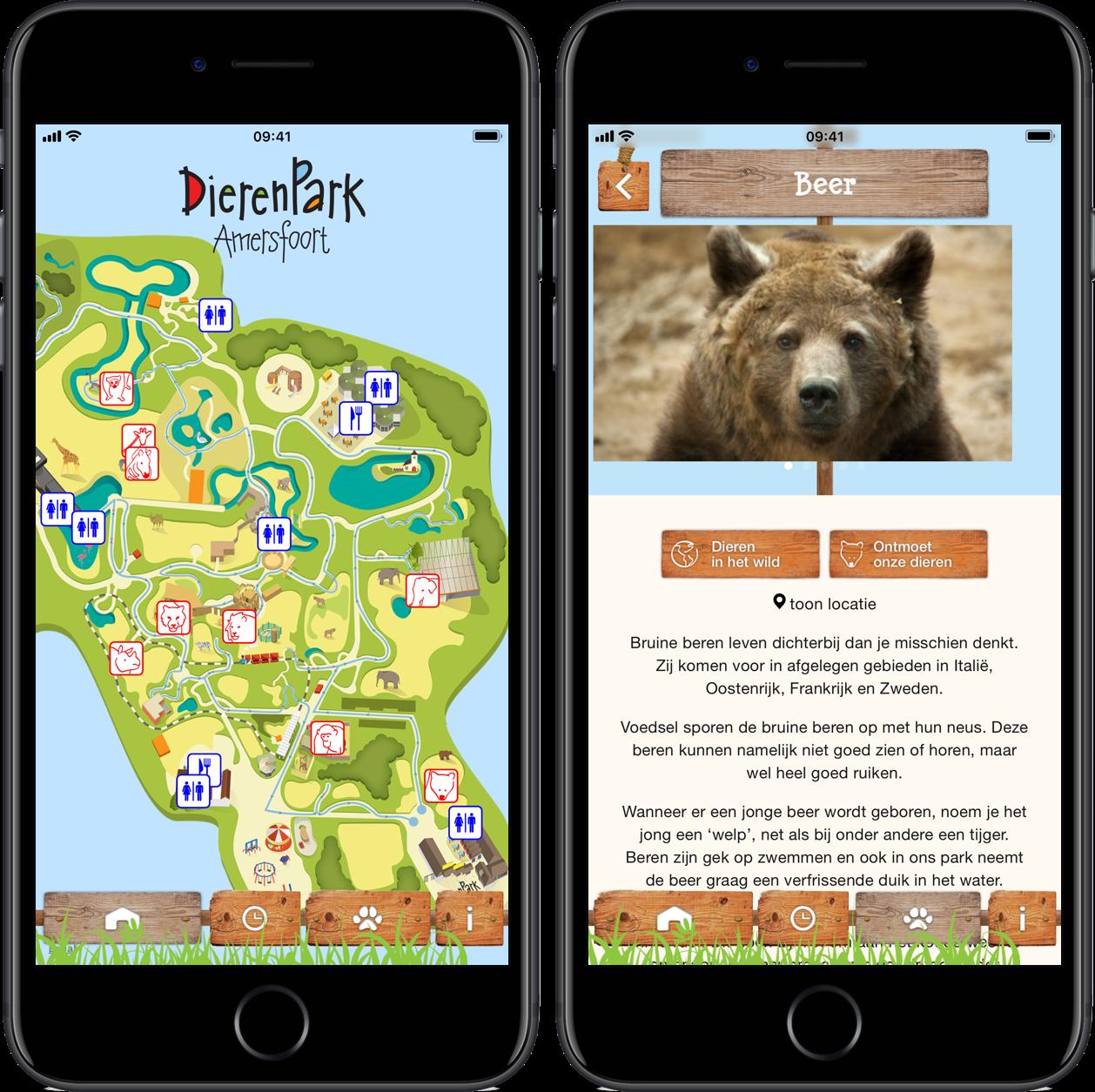 Dierenpark Amersfoort app