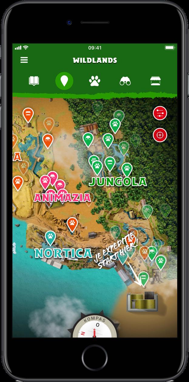 Wildlands app