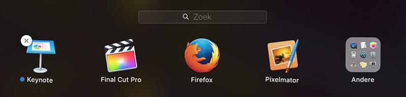 Apps niet verwijderen