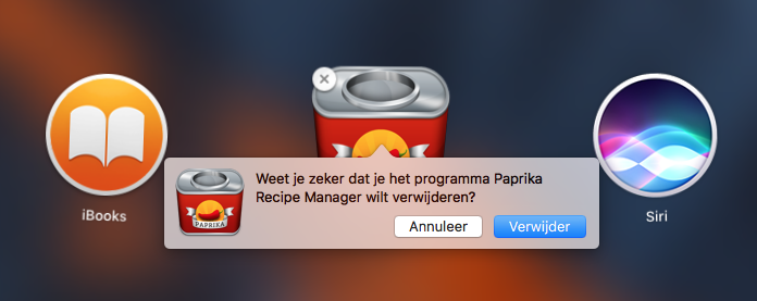 Programma verwijderen van de Mac