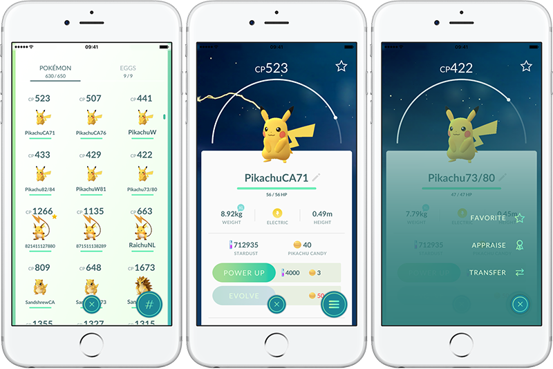 Pikachu Transfer