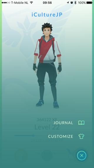 Uiterlijk van je Pokémon Go trainer aanpassen