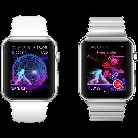 Cosmos Rings voor de Apple Watch.